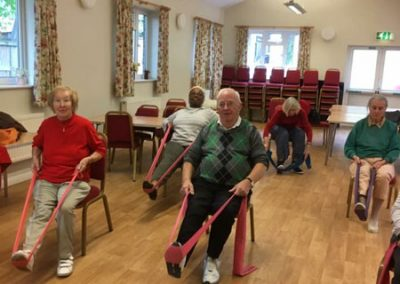 Senior fitness Osterley